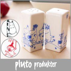 pluto produkter ( プルート プロダクト ) moomin ( ムーミン ) ソルト & ペッパー (調味料入れ).【楽天市場】
