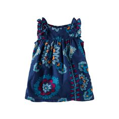 Tea Collection Limpopo Bandana Ruffle Tunic-Paired with shorts or leggings