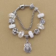 Owl charm Bracelets & Bangles