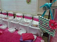 Spa Birthday Party Ideas | Photo 15 of 15 | Catch My Party