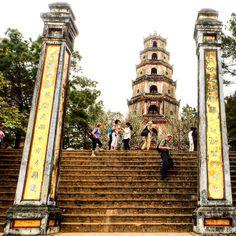 Thienmu Pagoda.. #travel #travelbloggers #hue #ancientcity #vietnam #temple