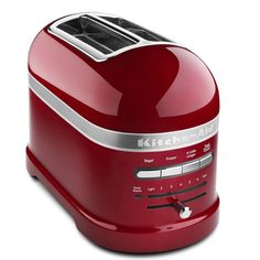 That's a heck of a toaster.....same color as my KitchenAid mixer...love!love!love!