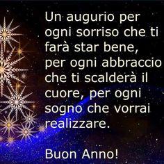 Buon Anno a tutti gli amici Italian Quotes, Genre, Happy New Year, Wish, Instagram Posts, Pace, Hobby, Sandro, Christmas