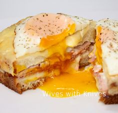 The Fabulous Croque Madame Prepared by Chef Daniel Boulud