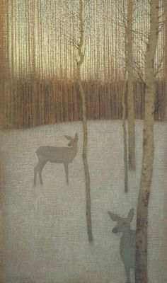 David Grossmann, 'At Dusk in the Winter Forest,' 2010-2015, Gallery 1261