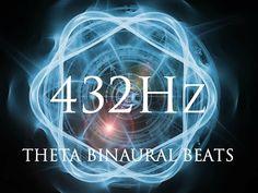 432Hz Shamanic Consciousness Drum Journey | THETA Binaural Beats | Deep Hypnotic Relaxation - YouTube