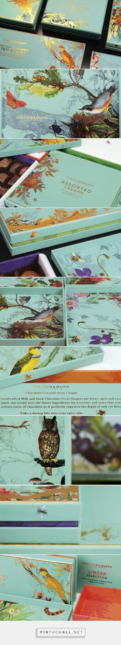 SWOON!! Design Bridge Work on Fortnum & Mason get ready for some chocolate #packaging love curated by Packaging Diva PD