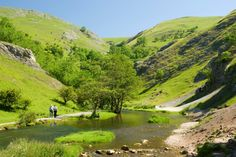 Dovedale in the Peak District   ...been here...so beautiful....