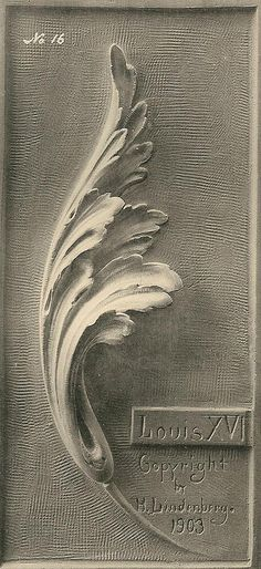 Acanthus-plate16-LouisXVI-lg | Flickr - Photo Sharing!