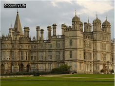 Burghley House was built in the tudor and elizabethan era between1555-1587 and is located in Stamford Lincolnshire England.