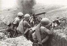 Soldados Rusos combatiendo ,1943