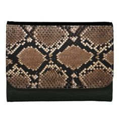 Snake Skin Collection Wallet Purse - patterns pattern special unique design gift idea diy