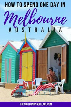 How to Spend One Perfect Day in Melbourne, Australia. If you love kitties, beaches, markets, coastal walks, amazing food and killer coffee - check out my guide to one perfect day in Melbourne. | The World on my Necklace #melbourne #australia #travelguide #catcafe #beach