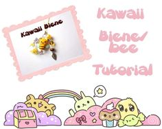 Kawaii bee tutorial