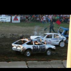 Demolition Derby Cars, Crash Bash, Summer Goals, Destruction, Hobbies, Sport, Fun, Autos, Deporte