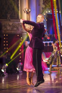 SCD week 9, 2016. Greg Rutherford & Natalie Lowe. Quickstep.  Voted off.Credit: BBC / Guy Levy
