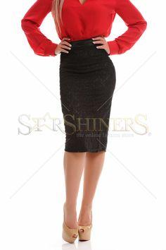 PrettyGirl Known Black Skirt