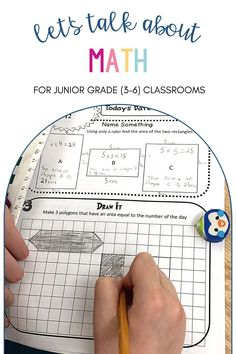 Learning about MATH for Junior Grade (3-6) Classrooms. Inquiry Based Learning, Number Sense, Grade 3, Problem Solving, Teacher, Classroom, Let It Be, Math, Class Room