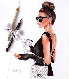 thin hairstyles female hairstyles for guys thin hairstyles 2016 thin hairstyles 2019 hairstyles for long faces medium thin hairstyles thin hairstyles with layers short thin hairstyles 2016 Woman Illustration, Illustration Sketches, Art Sketches, Illustrations, Fashion Design Drawings, Fashion Sketches, Chanel Art, Modelos Fashion, Girly Drawings