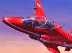 Red Arrows close up