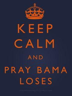 Bama loses