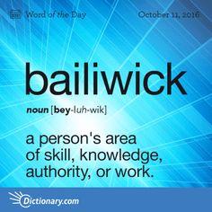 bailiwick