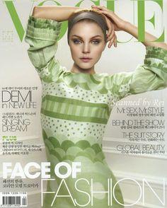 Jessica Stam by Alex Cayley Vogue Korea April 2007