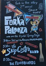 2nd Annual Forkapalooza 19 March at 15:00 Fork in the Alley Brick Oven Pub
