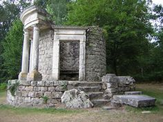 folly+buildings | the Forever Incomplete Temple of Philosophy at Ermenonville (1760s ...