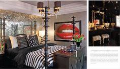 @KylieJenner 's bedroom suite designed by @JeffAndrewsDsgn
