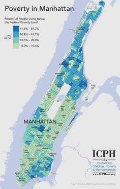 Wealth and Poverty in Manhattan (Feb 2013)