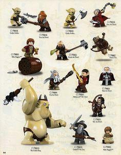 Lego The Hobbit Elf Guard Mini Figure Loose From Set 79004 Barrel