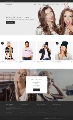 inVogue is wonderful WordPress theme for multipurpose #fashion #store #eCommerce websites download now➝ https://themeforest.net/item/invogue-wordpress-fashion-shopping-theme/16115679?ref=Datasata