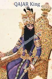 Resultado de imagem para qajar dynasty iran