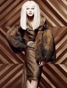 Jessica Stam for Dior by Snejana Onopka | The House of Beccaria~