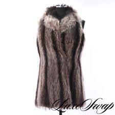 Image result for raccoon fur vest Fur Coat, Vest, Image, Ideas, Fashion, Moda, La Mode, Fur Coats, Fasion