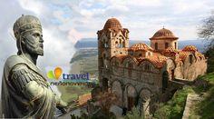 Καστροπολιτεία του ΜΥΣΤΡΑ: Εκεί που στέφτηκε ο τελευταίος Αυτοκράτορας Barcelona Cathedral, Mount Rushmore, Taj Mahal, Greece, Mountains, Building, Nature, Travel, Greece Country