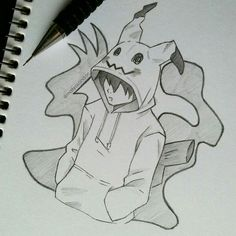 Want to discover art related to mimikyu? Check out inspiring examples of mimikyu artwork on DeviantArt, and get inspired by our community of talented artists. Scary Drawings, Anime Drawings Sketches, Dark Art Drawings, Anime Sketch, Disney Drawings, Cute Drawings, Pencil Art Drawings, Saga Art, Art Sketchbook