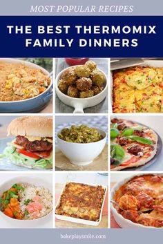 Our Thermomix family dinners are quick easy and (fussy) kid-approved! From a simple lasagne to pasta meatballs to fritters chow mein to soup and more! Thermomix Recipes Healthy, Thermomix Soup, Curry Recipes, Beef Recipes, Easy Family Meals, Kids Meals, Baby Food Recipes, Dinner Recipes, Lasagne Recipes