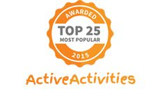 We have been awarded - Most Popular Kids Activities in 2015 by our gracious hosts at Active Activities. Check our website for great party catering, cakes, theme ideas and more for children's festivals, gala events and parties. #corporatepromotions #kidspartyfood #amazingchildrensbirthdaycakes