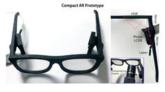 """#Microsoft reveals #prototype #augmented #reality #glasses that don't look #wacky  Microsoft reveals prototype augmented reality glasses that don't look wacky  Microsoft on Friday unceremoniously revealed new prototype augmented-reality (AR) glasses that look like a normal pair of thick-framed glasses. The emergence of the technology indicates Microsoft has been thinking ways to go beyond the bulky and costly HoloLens headset it unveiled two years ago.  """"There's still a lot of work to be…"""