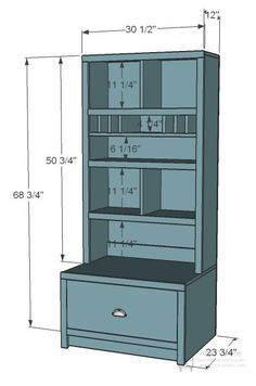 Entryway Mail Sort and Charging Hutch – Home DIY - Diy Furniture Building Furniture, Diy Furniture Plans, Diy Furniture Projects, Diy Wood Projects, Repurposed Furniture, Hutch Furniture, Furniture Cleaning, Furniture Removal, Furniture Stores