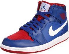 a0b570cdbb984 Nike Men s NIKE AIR JORDAN 1 MID BASKETBALL SHOES 9 Men US (GAME ROYAL