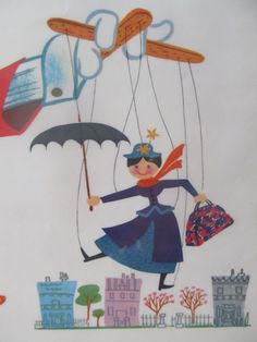 Mary Poppins illustration
