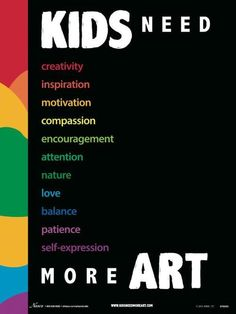 kids need art!