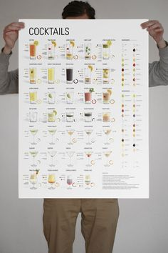 colorful cocktail guide