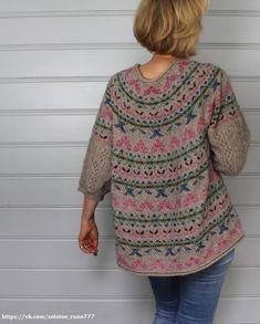Вязание - тонкая,душевная работа — Разное   OK.RU Sweater Knitting Patterns, Knitting Designs, Knit Patterns, Baby Knitting, Ravelry, Motif Fair Isle, Icelandic Sweaters, Fair Isle Knitting, Girls Sweaters