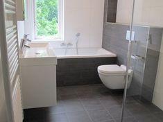 49 Ideas Bath Room Design Modern Grey Bathtubs For 2019 Attic Bathroom, Ensuite Bathrooms, Bathroom Layout, Bathroom Interior Design, Bathroom Storage, Master Bathroom, Small Bathroom Bathtub, Bathroom Taps, Bathtub Remodel