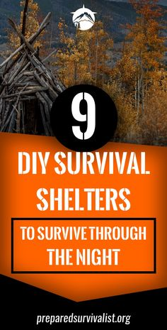 9 DIY Survival Shelters To Survive Through The Night - Prepared Survivalist Outdoor Survival Gear, Survival Tips, Survival Skills, Earthquake Preparation, Emergency Preparation, Survival Shelter, Wilderness Survival, Know Your Place, Safety Topics