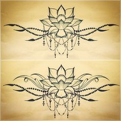 underboob tattoo design - Google Search but with sampaguita (filipino flower) maybe?